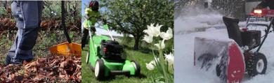 Ecotimes helårsavtal - allt från vårstädning till trädgårdsskötsel och snöskottning.